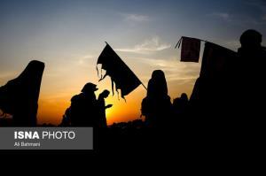 واکسیناسیون جاماندگان اربعین در مسیر راهپیمایی در پایتخت