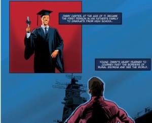 انتشار یک کتاب مصور درباره «جیمی کارتر»