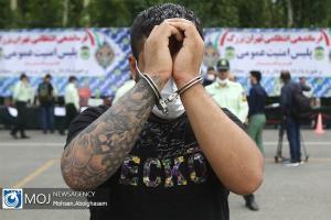 دستگیری سارق کابل مخابرات با ۱۱ فقره سرقت در میناب