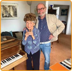 خانم موسیقیدانِ 107ساله!