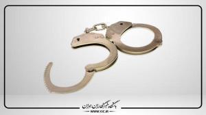 دستگیری سارق دربهای فاضلاب در میانه