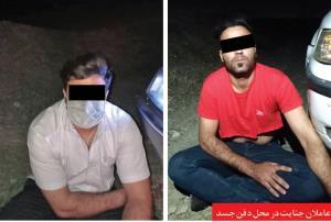 کشف جنازه مرد ۲۵ ساله در بیابانهای مشهد