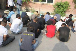 ۱۴ سارق در شهر جدید هشتگرد دستگیر شدند