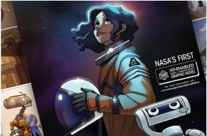 بچهها با رمان واقعیت افزوده ناسا به فضا میروند!