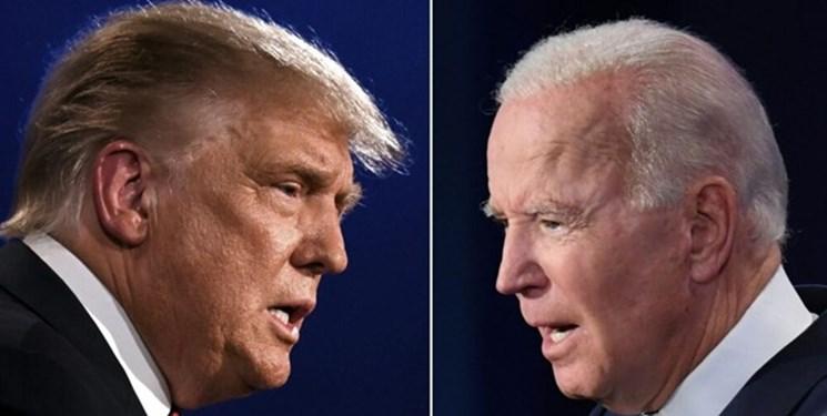 نظرسنجی آمریکایی ها: ترامپ، بایدن را در ۲۰۲۴ شکست میدهد