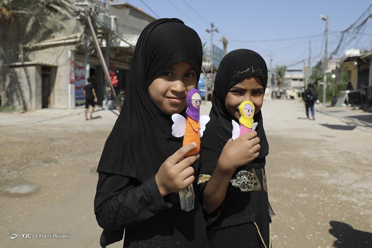 عکس/ تحفه ایرانی برای کودکان عراقی