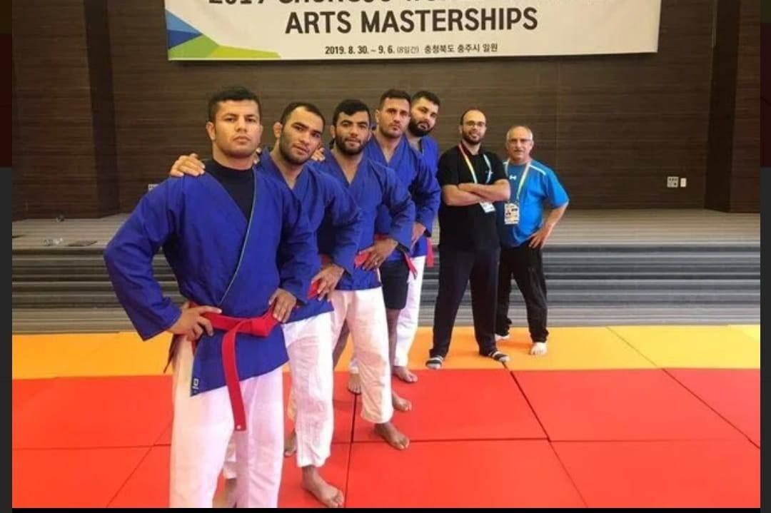 حضور تیم ملی کاتا کوراش ایران در مسابقات هنرهای رزمی جهان (کره جنوبی ۲۰۲۱)
