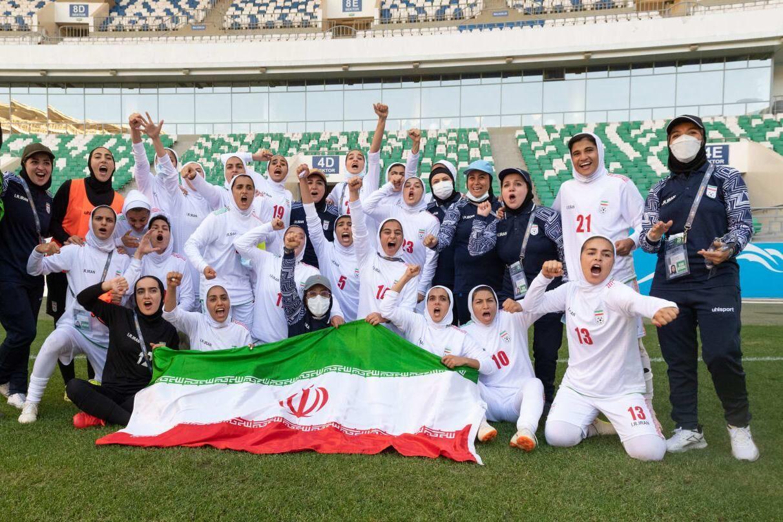 کنفدراسیون فوتبال آسیا/ زنان ایران تاریخسازی کردند