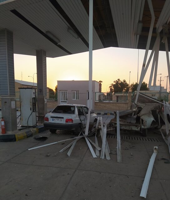 انفجار کپسول CNG وانت پیکان در دیّر ۳ مصدوم داشت
