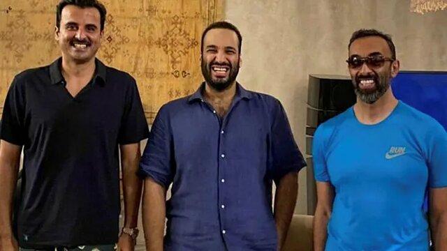 پشت این لبخندها، رقابتی سخت در حوزه خلیج فارس جان میگیرد