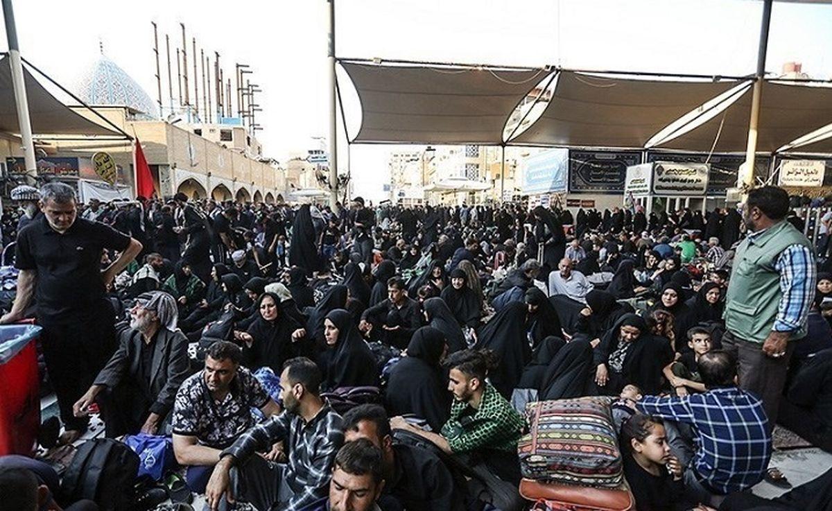 فوت یک زائر و ۳۶ مجروح در جریان تجمعات پشت مرزهای عراق