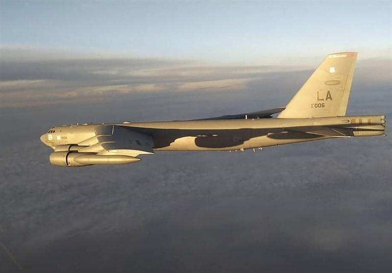 جنگندههای روسیه بمبافکن آمریکایی را بر فراز اقیانوس آرام مشایعت کردند