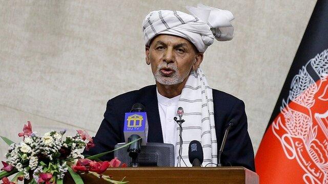 اشرف غنی حمایت از طالبان را تکذیب کرد