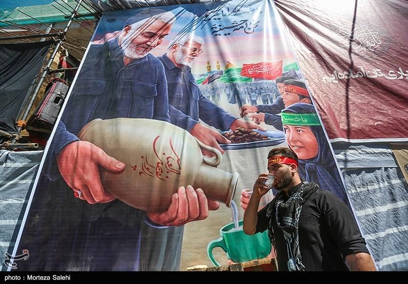 عکس/ موکبهای خدمت رسانی ایرانی به زائرین اربعین حسینی در کربلا