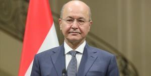 رئیس جمهور عراق: از درسهای جاودانه اربعین الهام بگیریم
