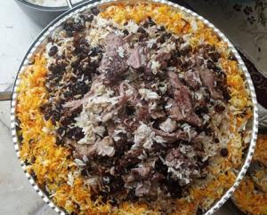 «ته چین گرمساری» یکی از بهترین غذاهای سنتی و اصیل ایران