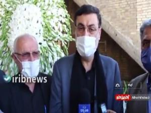 اعطای حکم شهادت به خانواده «علی لندی» توسط رئیس بنیاد شهید