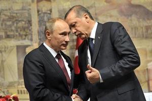 دیدار خصوصی اردوغان با پوتین