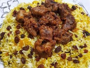 «کشمش پلو با گوشت غاز» غذای نذری مازندرانی ها
