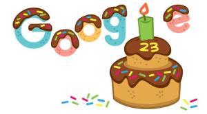 امروز تولد 23 سالگی گوگل است