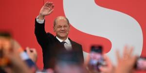 اولاف شولتز: در انتخابات آلمان پیروز شدم
