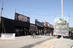 دایر شدن ۱۰ موکب برای پذیرایی از زائران اربعین در مهران