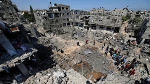 رویترز: عملیات بازسازی غزه از اوایل اکتبر آغاز خواهد شد