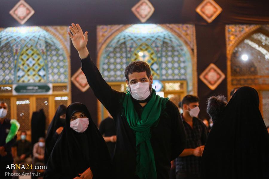 عکس/ حالوهوای حرم حضرت معصومه(س) در شب اربعین حسینی