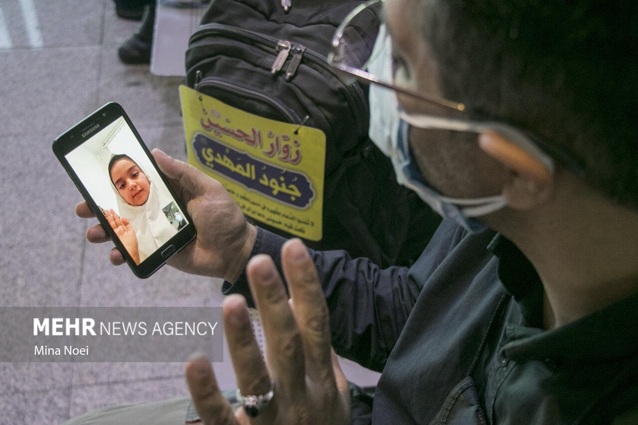 عکس/ پرواز زائران اربعین از فرودگاه تبریز به مقصد نجف