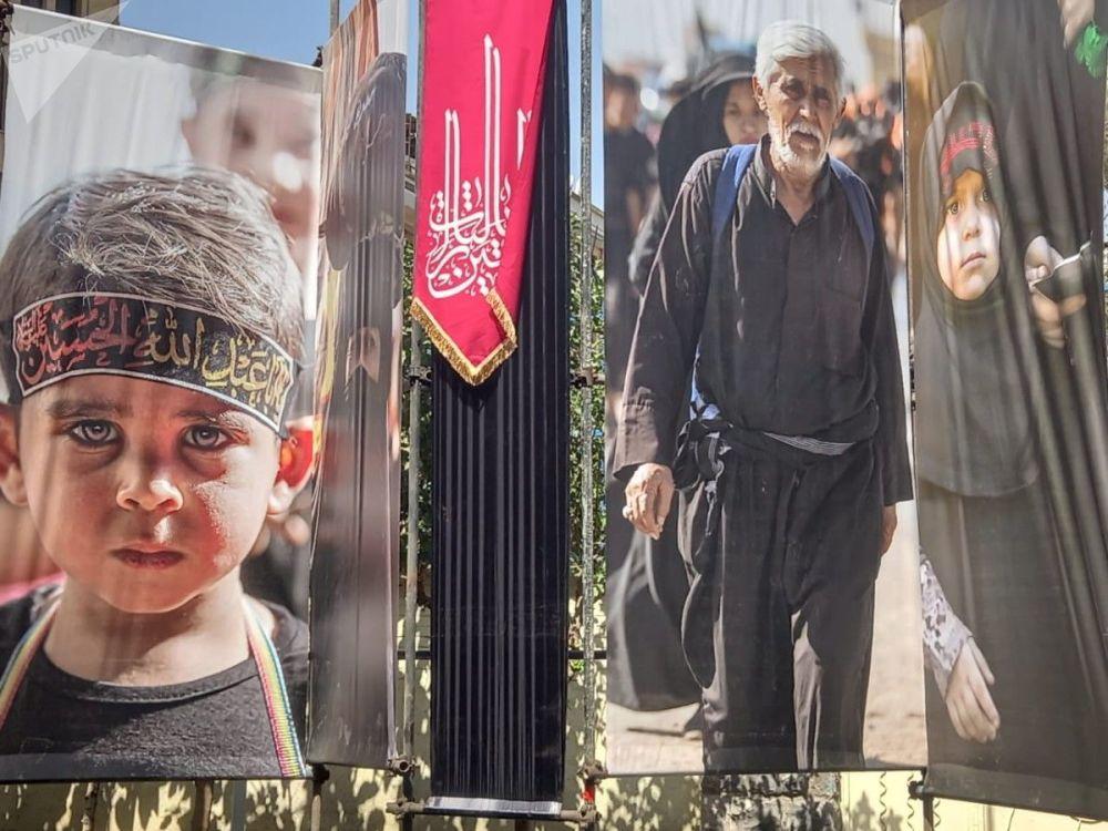 عکس/ برگزاری نمایشگاه عکس اربعین در تهران