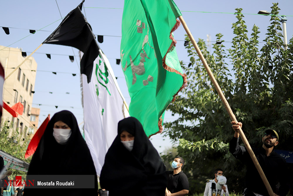 عکس/ پیاده روی جاماندگان اربعین حسینی (ع)