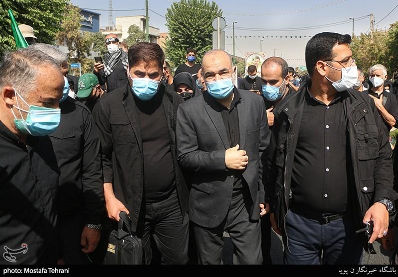 عکس/ حضور فرمانده کل سپاه در راهپیمایی جاماندگان اربعین