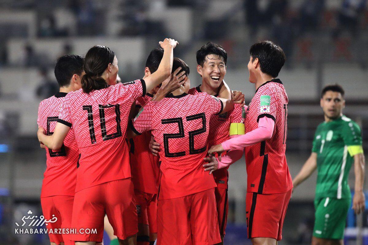 زمان سفر تیم ملی فوتبال کره جنوبی به تهران مشخص شد