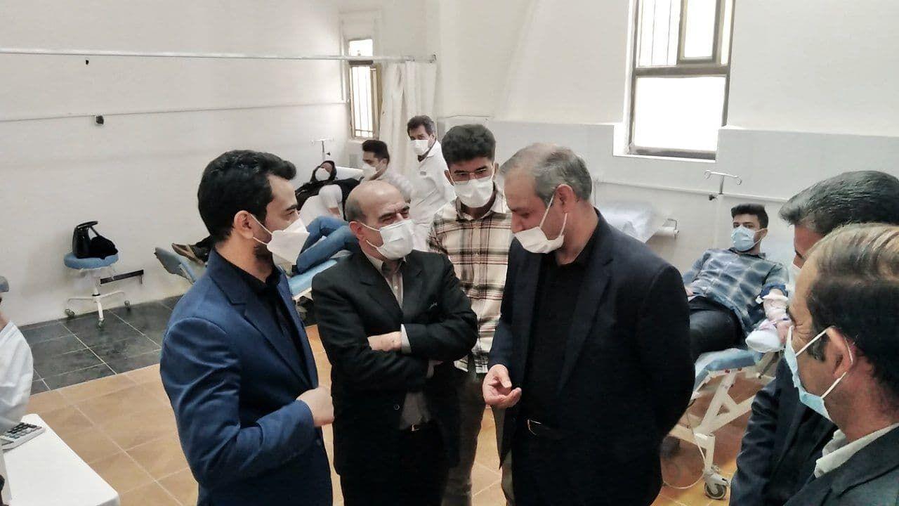 مرکز انتقال خون سنقروکلیایی راهاندازی شد