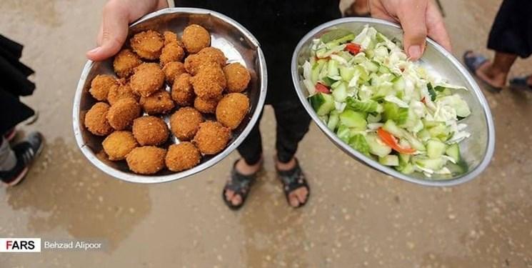 فلافل عراقی غذای نوستالژیک پیاده روی اربعین