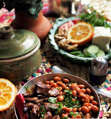 لوبیاکباب؛ یک غذای شمالی لذیذ و دلچسب