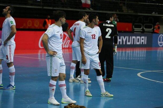 دلایل ناکامی تیم ملی فوتسال درجام جهانی