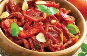 گوجه خشک شده طعم دار