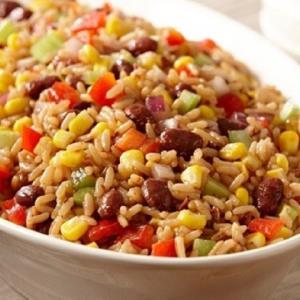 غذای اصلی/ «پلو سبزیجات» خوش عطر با لوبیا قرمز پرخاصیت