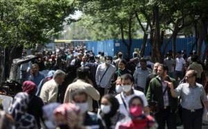 میزان افزایش سالانه جمعیت در استان تهران