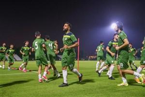 تیم ملی بدون لژیونرها در اردوی امارات