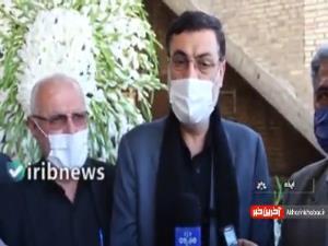 اعطای حکم شهادت به خانواده علی لندی توسط رئیس بنیاد شهید