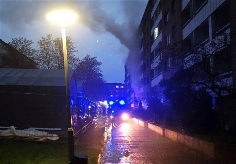 وقوع انفجار مهیب در گوتنبرگ سوئد
