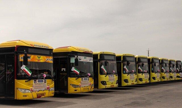 اعزام ۱۰۰ دستگاه اتوبوس مسافری آذربایجانشرقی برای جابهجایی زائران اربعین
