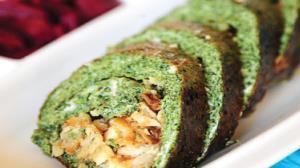 دستور تهیه «رولت سبزی» خوش طعم
