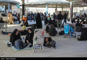 آخرین وضعیت ورود زائران اربعین به کشور