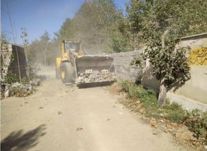 ۵۰ هکتار از اراضی کشاورزی بخش آسارا کرج آزادسازی شد