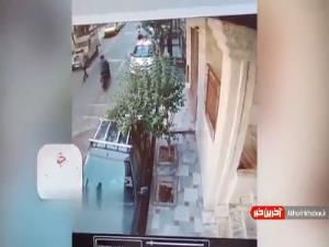 لحظه سرقت گوشی موبایل توسط ۳ سارق در تهران