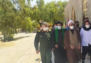 استقرار بیمارستان صحرایی سپاه امیرالمومنین(ع) در مرز مهران