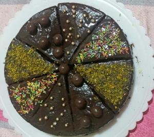 از شما/کیک تمام شکلاتی من...